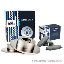 Front Pair of Brake Discs for Mercedes Benz C220d 2.1 05//11-08//16