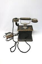 Neufeldt & Kuhnke Telephonwerke Kiel Telefon Kurbeltelefon