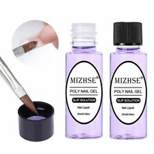 MIZHSE Poly Polish Gel Liquid Slip Solution Quick Builder Nails Permanent Gel
