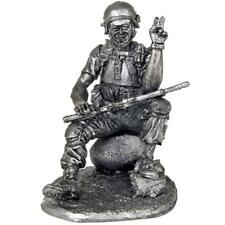 *Special forces Soldier*Tin toy soldiers 54mm miniature figurine.metal sculpture