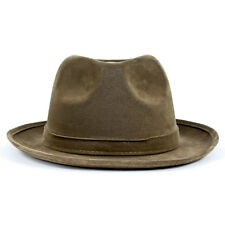 dd950f90991 Adult Men s Gangster Godfather West Cowboy Sheriff Halloween Costume Fedora  Hat