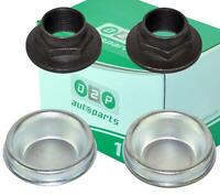 REAR HUB NUT & DUST CAP SET FOR FIAT SCUDO ULYSSE LANCIA ZETA 1474046080