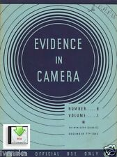 CD PDF 3 Issues of Evidence in Camera 1942 Cherbourg Dachau Stalag St Nazaire