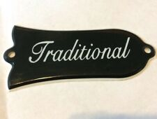 Genuine Orignal Gibson Traditional Les Paul Truss Rod Cover Plate