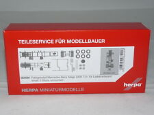herpa 084499 Fahrgestell MB Atego LKW 7,5 t für Ladebordwand Inhalt: 2 Stück