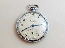 MOLNIA Molnija USSR vintage men's mechanical POCKET watch