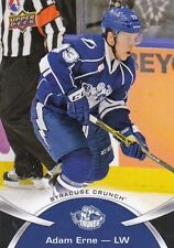 ADAM ERNE 2015-16 15-16 UPPER DECK AHL BASE #15 SYRACUSE CRUNCH !