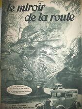 167 AUTOMOBILE LUXEMBOURG RN N° 16 BUREAUX DILIGENCES LE MIROIR DE LA ROUTE 1930