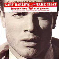 CD SINGLE Gary BARLOW Forever love 2-tr CARD SLEEVE NEW WITH FRENCH STICKER