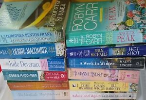 Lot Of 12 Paperback Romance Books - Various Authors (Macomber, Michaels, etc.)