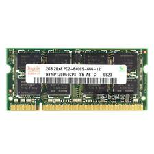 New Hynix 2GB PC2-6400 DDR2-800 800Mhz 200pin Sodimm Laptop Memory