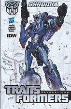 IDW Comics 2014 Transformers Generations DARK CYBERTRON #11 Chromia Variant