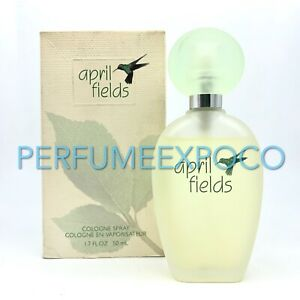 APRIL FIELDS Cologne Spray by COTY 1.7oz/50ml for  WOMEN *DISCONTINUED* (IA21