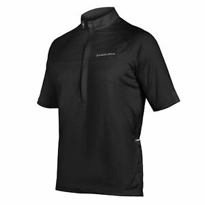 Endura Xtract II Short Sleeve Jersey - Black (Size Large Only)