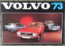 VOLVO CAR RANGE SALES BROCHURE 1973 REF- 710-73 872