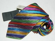 "Men's  Duchamp London Multicolor 100%Silk Neck tie Made in England ""NEW"""
