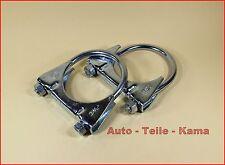 2 x Auspuffschelle für Seat , Skoda , VW , Montageschelle / Clamp M8 Ø 60 mm
