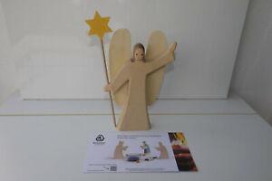 OSTHEIMER Figur Engel mit Stern passend zu Weihnachtskrippe TOP