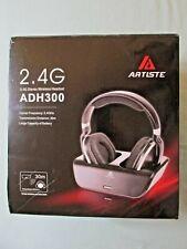 Wireless TV Headphones, Artiste ADH300 2.4GHz Digital Over-Ear Stereo Headphone