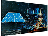 Star Wars A  new hope Canvas Wall Art Picture Print ~ VARIOUS SIZES