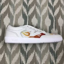 Vans Lowland Cc Womens True White Flame Sneakers Skate Shoes Sz 11.5 VN0A4TZY4H4