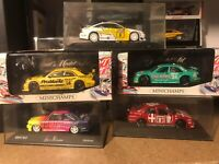 Sammlung 5x DTM-Modelle 1:43 Minichamps 1992/1993/1994