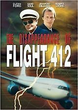 The Disappearence of Flight 412 (DVD) Region 4 Very Good Condition