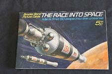 ALBUM BROOKE BOND THE RACE INTO SPACE CORSA ALLO SPAZIO COMPLETO FILL FIGURINE