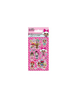 LOL Surprise Party Stickers 6 Sheets of Stickers Official licensed product LOL