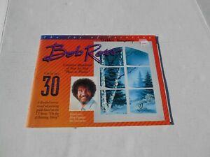 Vintage 1998 Bob Ross Painting Book Volume 30