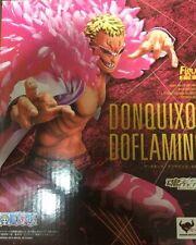 New Bandai Figuarts Zero One Piece Don Quixote Doflamingo Dress Rosa Painted