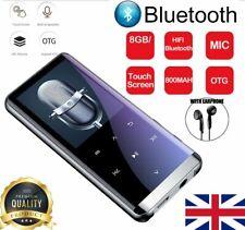 "Bluetooth MP3 MP4 Players Portable 1.8"" LCD Music Video Media Player FM Radio UK"