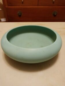 Arts & Crafts COORS & CO POTTERY BOWL MATTE TURQUOISE