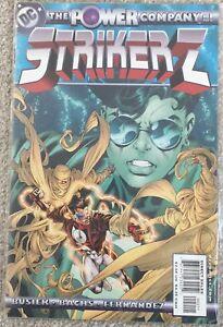 DC comics' STRIKERZ issue #1/ March 2002