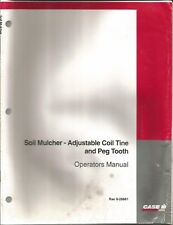 Case Ih Soil Mulcher- Adjustable Coil Tine & Peg Tooth Operator's Manual