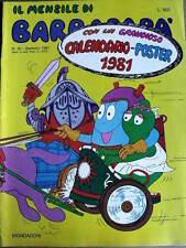 Il Mensile di Barbapà n°50 1981  -[G.235]