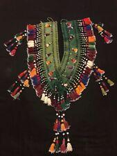 Afghan kuchi tassel, old vintage handmade tassel, ethnic tribal tassel
