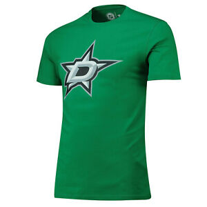 NHL T-Shirt Dallas Stars Primary Graphic Logo Ice Hockey T-Shirt Green