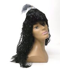 Lacey Costume Wig of New York Kiss Black Hair Wig Costume - New