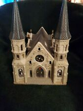 O'Well Novelty - Christmas Light Twin Spire Cathedral - Dicken's Keepsake