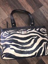 Dooney & Bourke Zebra print shoulder bag - Medium Leisure Shopper Tote