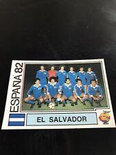 Panini Espana 82 - El Salvador