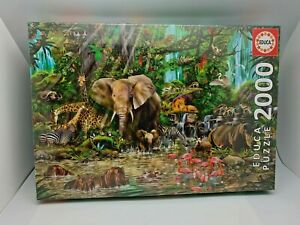 Educa African Jungle 2000 Piece Puzzle - Ages 12+ (E-1)