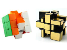 3X3X3 Mirror Cube and 3x3x3 Cyclone boys cube smooth puzzle kid's toys gift game