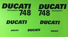 Ducati 748 Track bike or road fairing Decals Sticker KIT #1/748F