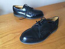 Vintage Dr Martens 7125 Black Shoes UK 7 EU 41 England steel skin punk mod