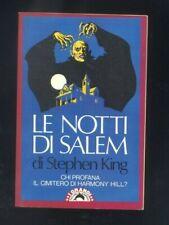 Stephen King - Le notti di Salem - Bompiani 1989   R