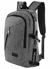 Business Laptop Backpack, Slim Anti Theft Computer Bag, Water-resistent College