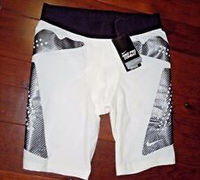 Nike mens Pro Combat Compression white Hyperstrong Soccer Shorts size XL