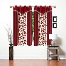 2 x New 2 Piece Eyelet Window Curtain Set - 5 ft
